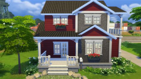 house family sims 3 sims 4 creations family home ansgar download