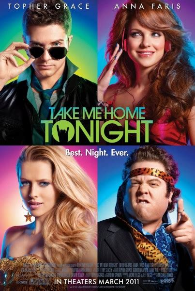 take me home tonight poster trailer heyuguys