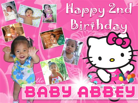 hello kitty themes for tarpaulin abbey s 2nd birthday hello kitty theme cebu balloons