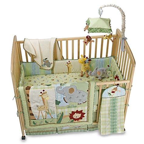 lambs and ivy bedding lambs ivy zoofari 174 crib bedding accessories buybuy baby