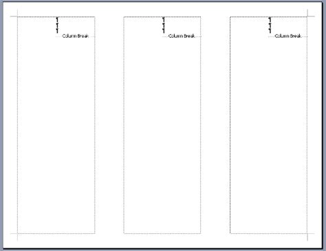 panel dimensions for tri fold brochure images
