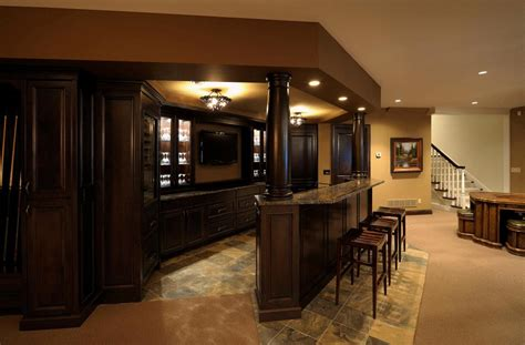 Basement Bar Cabinet Ideas 35 Best Home Bar Design Ideas Wood Cabinets Wood And Bar