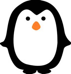 penguin template penguin clip at clker vector clip