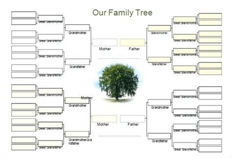 fill in the blank family tree template family tree template word mediaschool info