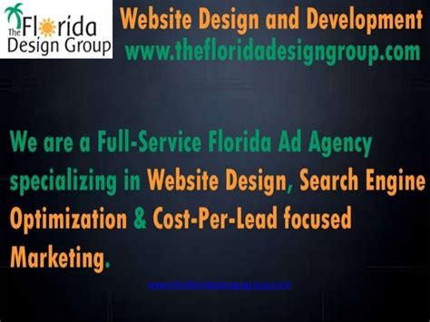 Florida Search Engine Florida Website Design Search Engine Optimization Market