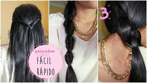 6 peinados faciles rapidos y bonitos para ir a youtube 6 peinados faciles rapidos y bonitos para ir a youtube