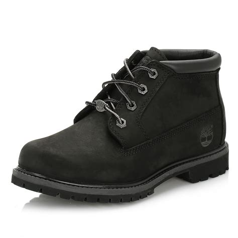 timberland womens black nellie waterproof chukka