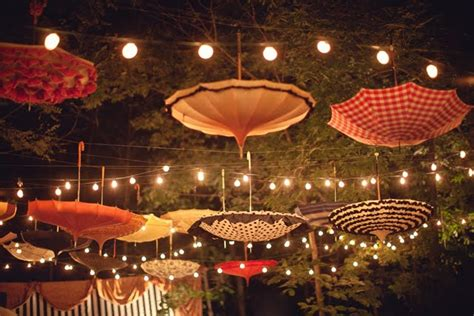 Backyard Birthday Party Ideas ideas for creating a twinkling garden party ambience