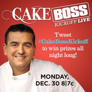 Cake Boss Sweepstakes - cake boss premiere live sweepstakes with buddy valastro tonight tvruckus