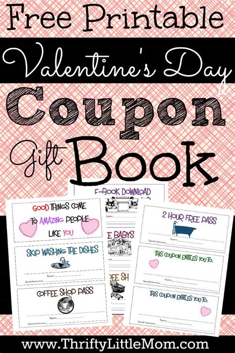 free printable valentine love coupons printable coupons for your valentine 187 thrifty little mom