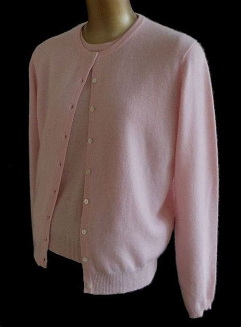 Jacket Sweater Mtma Pink vintage 90s cardigan sweater twinset 1990s pink sleeve sweater and matching