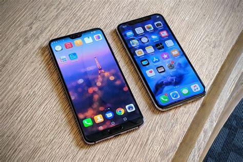 apple iphone x vs huawei p20 pro comparison the fone stuff