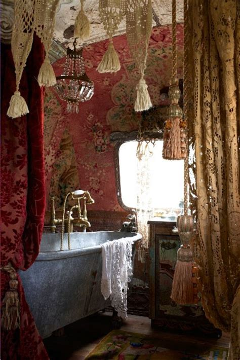 boho bathroom ideas dishfunctional designs the bohemian bathroom
