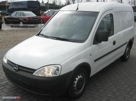opel combo 2004 opel combo 2004 other vans trucks up to 7 photo and specs