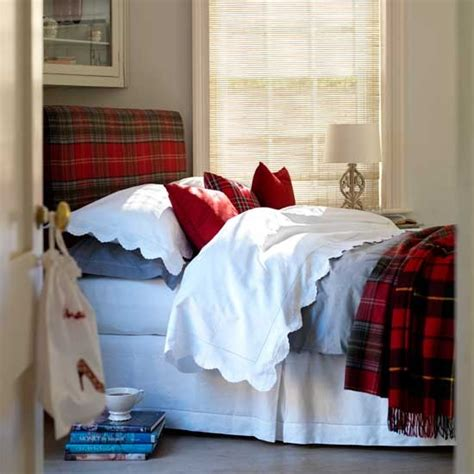 plaid bedroom ideas plaid bedroom country designs headboard housetohome