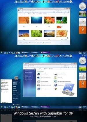 html style themes theme styles free windows 7 visual style with superbar for xp