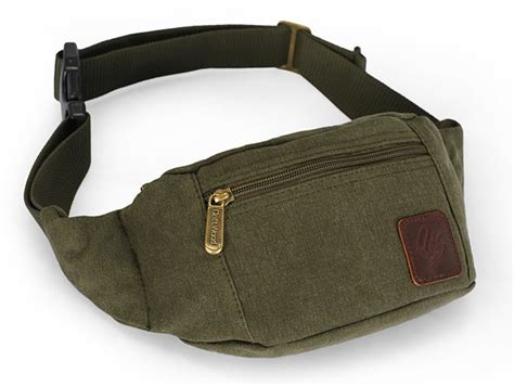 Weist Bag pack canvas waist bag yepbag