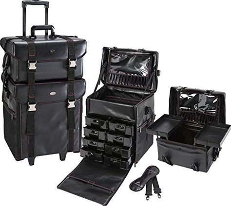 pro makeup case with drawers seya 2 in 1 professional makeup artist rolling makeup