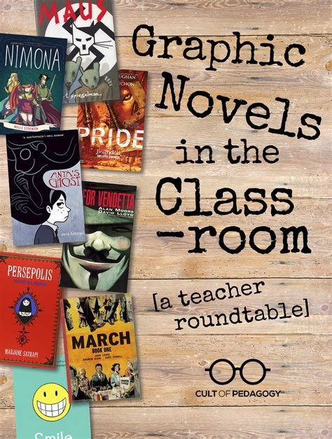 Or Novel Graphic Novels In The Classroom A Roundtable Cult Of Pedagogy