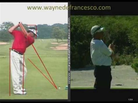 fred couples swing analysis fred couples swing analysis youtube