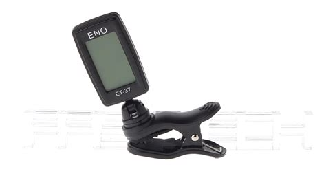 Clip Tuner Eno Et 37 1 3 22 eno et 37 1 2 quot lcd clip on electric tuner for guitar