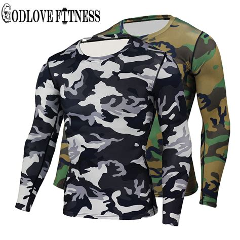 Camouflage Drying Compression Boxer new high quality camouflage compression t shirt