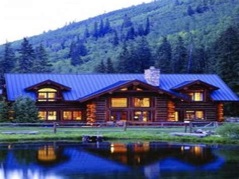 Beautiful Log Cabin Homes by Single Wide Cabin Style Mobile Homes Studio Design