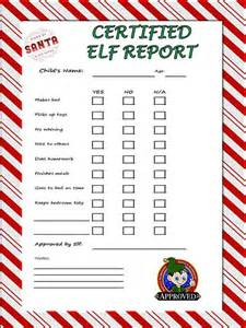 behavior report pdf inspired by on a shelf