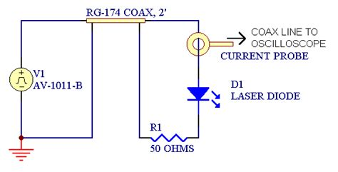 light emitting diode circuit diagram how to deliver a fast 2 pulse to a diode in a probing station