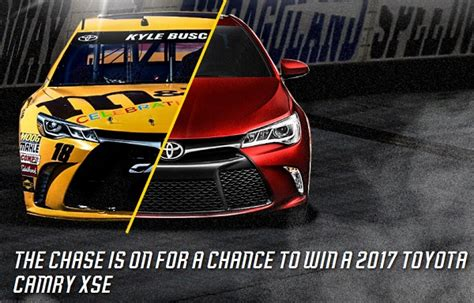 Chase Sweepstakes 2016 - toyota chase for the nascar sprint cup sweepstakes sweepstakesbible