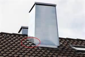 kamin abdichten dach schornsteinsanierung dach kamin