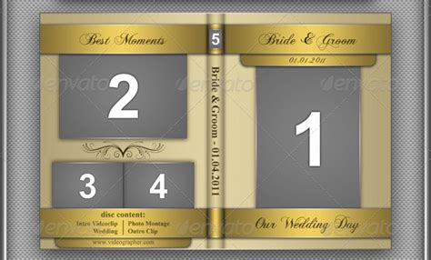 dvd cover psd template 40 free must wedding templates for designers free