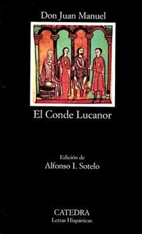 el conde lucanor el conde lucanor don juan manuel 9788437600789