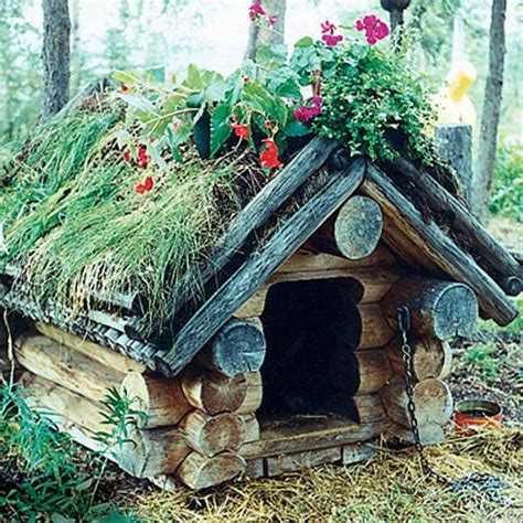 dog house garden 30 dog house decoration ideas bright accents for backyard designs