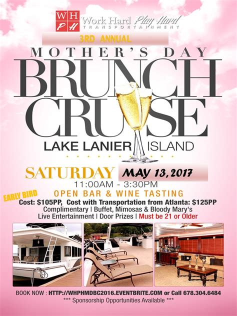 s day cruise 2017 quot s day brunch cruise quot 2017 tickets sat may 13