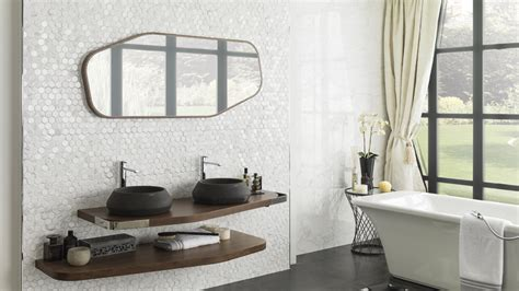 Bathroom Tiles Ideas Uk Forest Geometrical Accuracy In Ceramic Wall Tiles