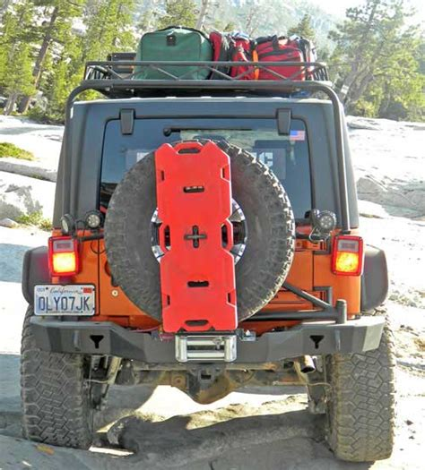 Gas Can For Jeep Wrangler Carry Fuel 4 Wheeling