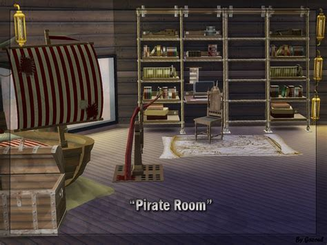 pirate bedroom set my sims 4 blog pirate bedroom set by gazoul