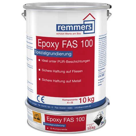 Epoxidharz Klar Polieren by Remmers Epoxy Fas 100 Mehrkammerbeutel 2 5 Kg Gebinde