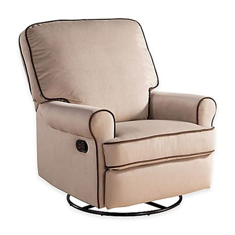 glider recliners for nursery upholstered gt abbyson living 174 bryant nursery 174 swivel
