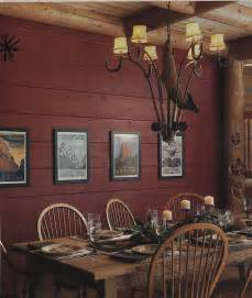Home Interior Wall Colors by Painting Log Walls Inside The Effect Painted Logs