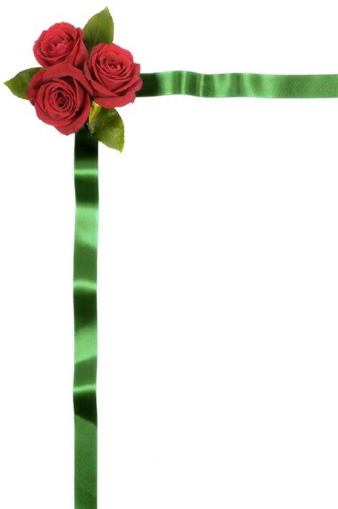 scarica cornice per foto gratis confine cornice floreale con rosse scaricare foto