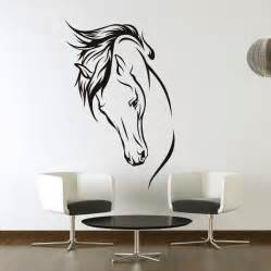 details over horses head wall art stickers decal transfers browse room bedroom elegant horse sticker