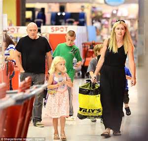 breaking bad star dean norris enjoys a family day of