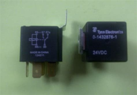 automotive relay with diode tyco 24vdc spdt relay w brkt diode 30a 1432876 1 automotive relay