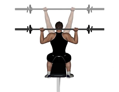 bench press neck behind the neck shoulder press bodybuilding wizard