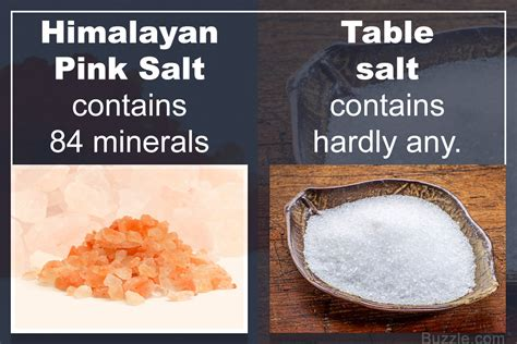 is table salt a mineral table salt vs himalayan pink salt which is better and why