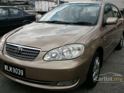 Karpet Lumpur Altis 2004 toyota corolla altis 2004 e 1 6 in kuala lumpur automatic sedan beige for rm 21 800 3652508