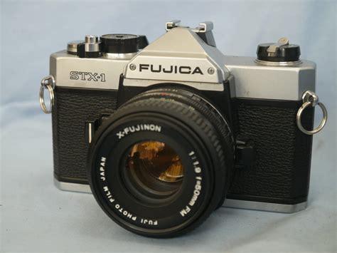fuji slr fuji stx 1 slr c w 50mm lens 17 99