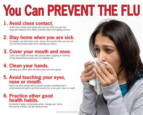 7 Tips On Preventing The Common Cold by Prevent The Flu